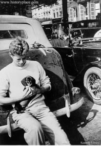 JFK in France