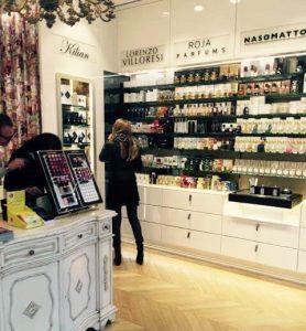 Niche Perfumery in Vienna Le Parfum inside