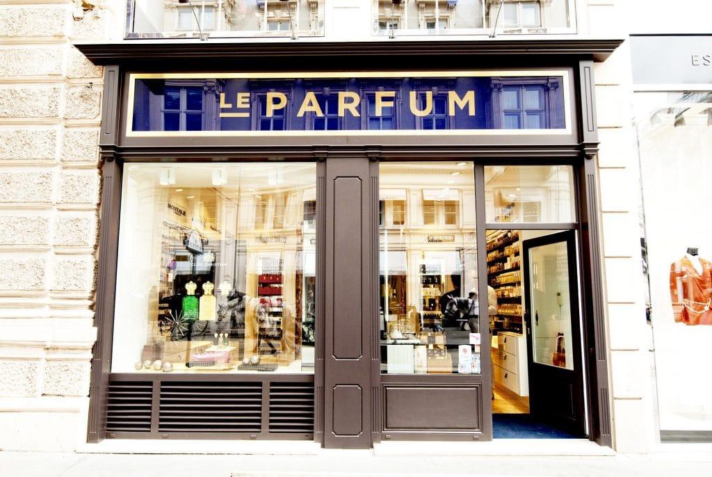 Le Parfum Store Window
