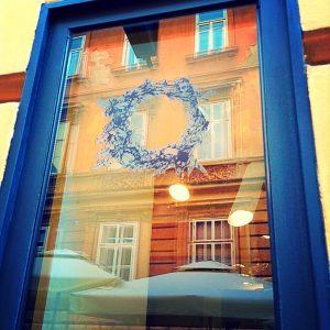 Top Zagreb Perfumery Window