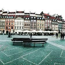 Warszawa main square