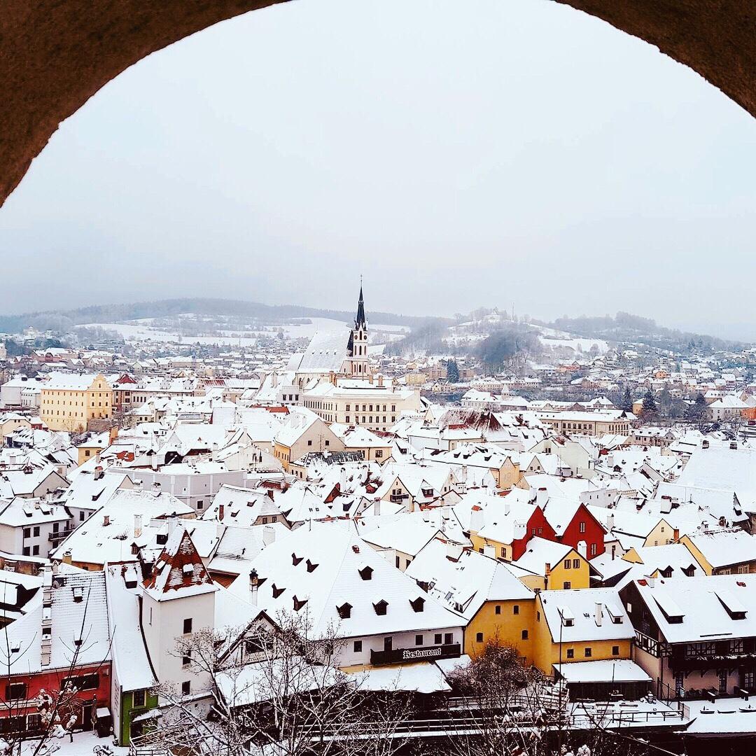 Krumlov in winter