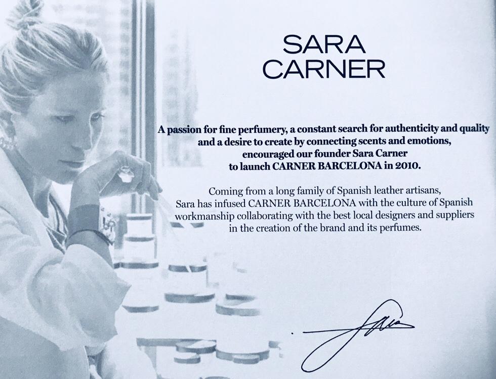 sara carner signature