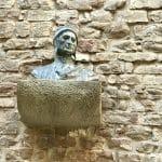 dante statue in florence
