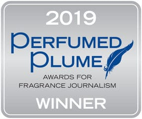 2019 Perfumed Plume winner logo