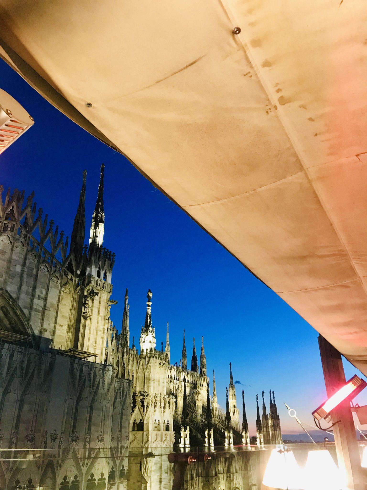 Milan Duomo at night