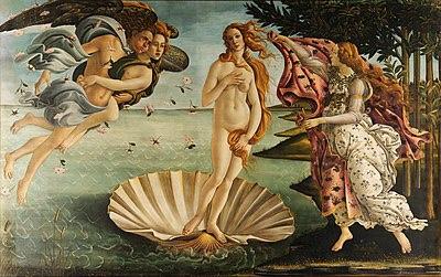 Boticelli The Birth of Venus