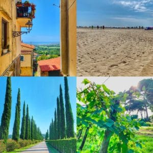 Beaches in Tuscany