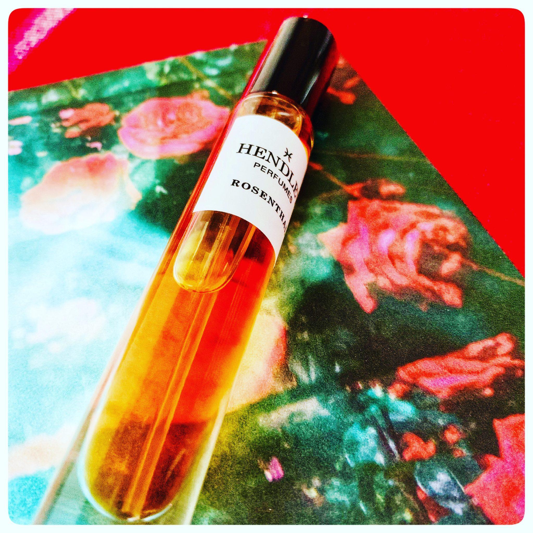 hans hendley rosenthal small bottle
