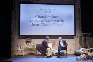 TALK br Chandler Burr in conversation br with Jean Claude Ellena 001