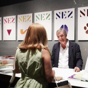 Jean Claude Ellena at Pitti 2019