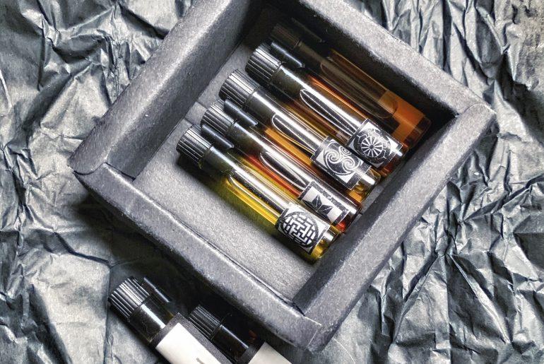 not perfumes samples