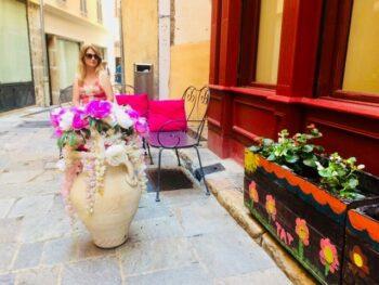 The Plum Girl in Grasse