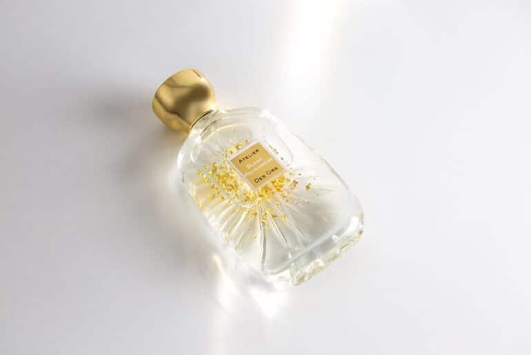 Blanc Polychrome Atelier Des Ors perfume bottle