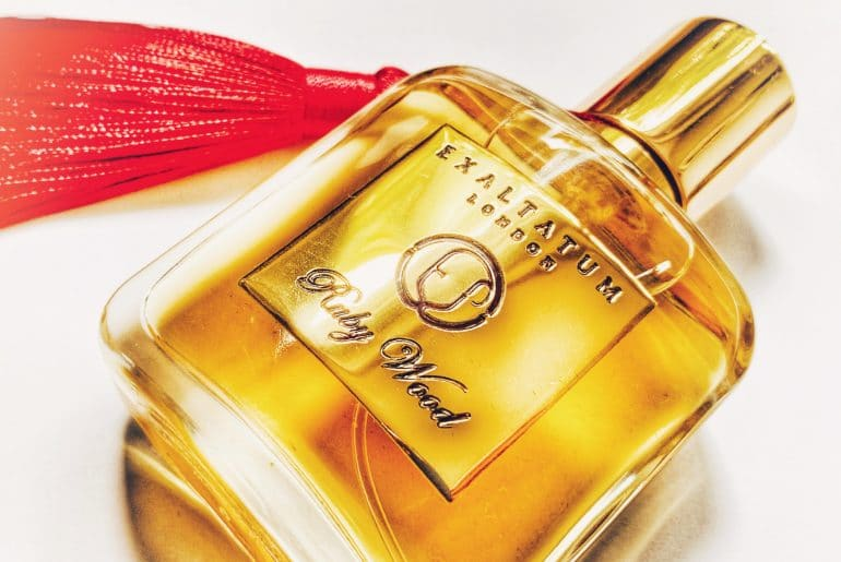 Ruby Wood perfume by Eglija Vaitkevice