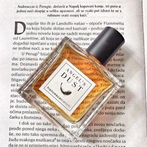 angels dust perfume bottle