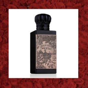 Harem rose perfume bottle