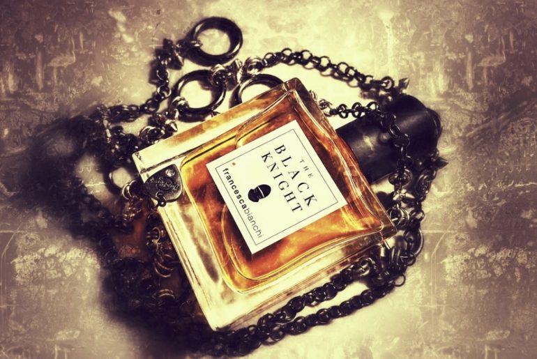 The Black Knight perfume bottle
