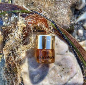 Silence the sea oil in sea grass