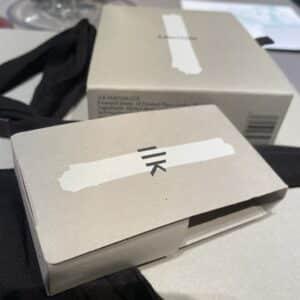 Ilk perfume packaging